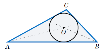 Circumscribed and inscribed circles opencurriculum find the radius r of the inscribed circle for the triangle abc where a 2 b 3 and c 4 draw the circle ccuart Images