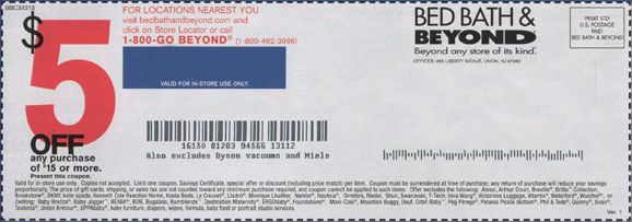 Bed Beyond Coupon Code